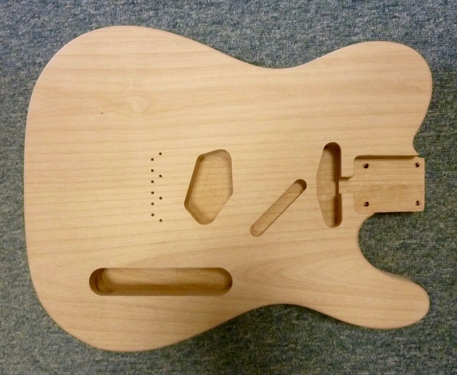 NEW Alder TL body, 44.5mm deep, 2 piece,sanded, not sealed, fabulous replacement