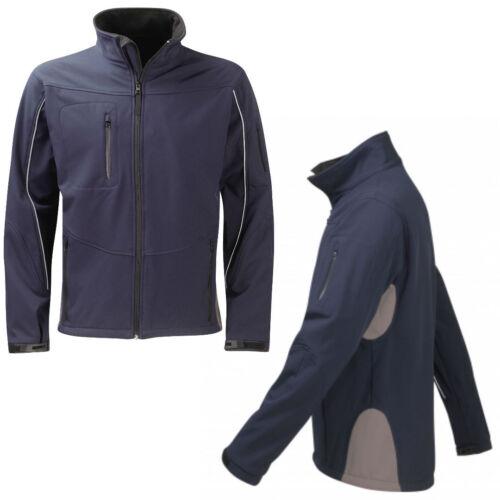 Softshell Fleece Jacket Sizes XS-XXL Waterproof Breathable Technical Work Coat