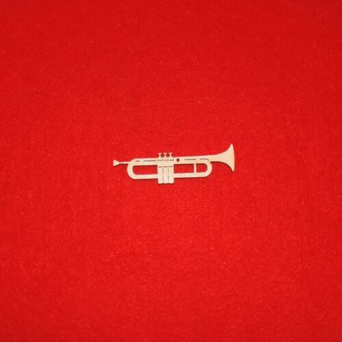 7 cm 5er Set Musikinstrument Geschenk Geldgeschenk Musiker Trompete aus Holz