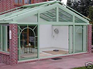 Aluminium wintergarten neu 20 qm ebay - Einrichtung wintergarten bilder ...