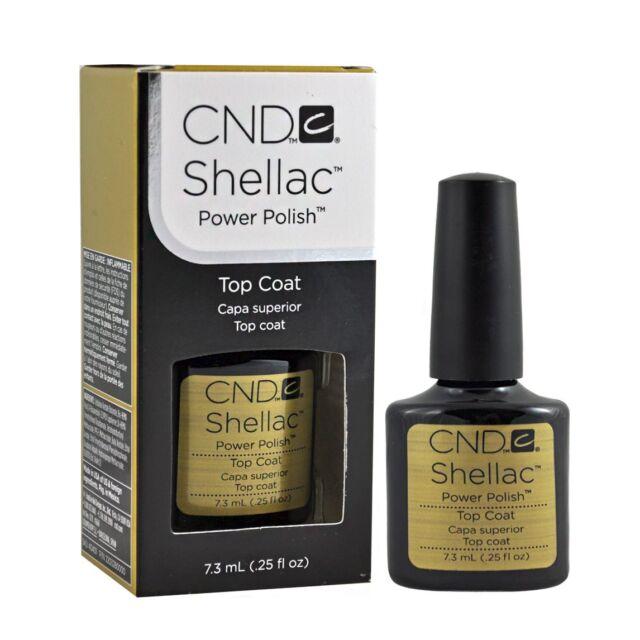 CND Shellac UV Top Coat 401 0.25oz