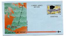 España ( Spain ) : Aerograma ( Air Letter ) Año 1982 VUELO ESPAÑA-CUBA-MÉJICO