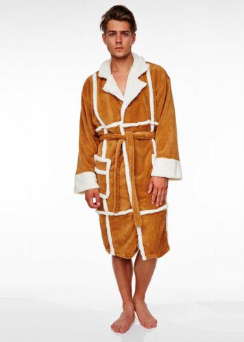 Only Fools /& Horses Del Boy Adult Fleece Bathrobe One Size Robe Dressing Gown