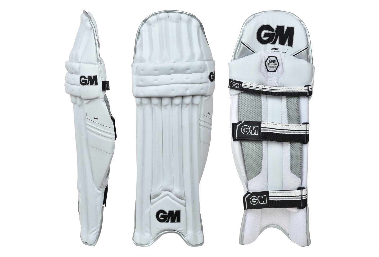 GM 808 Cricket Batting Pad (Leg Guard) RH LH AU Stock Gratis Ship (Cotton Inner)
