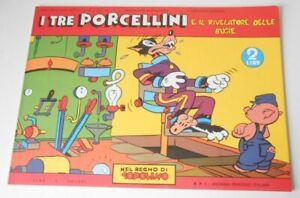 Mickey Mouse Topolino - Three Little Pigs Reprint Comic 1940