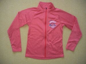 size 40 9864b c9dbc Details about WASHINGTON DC CAPITALS Red Hockey NHL ZIP JACKET Coat  Sweatshirt Women's MEDIUM