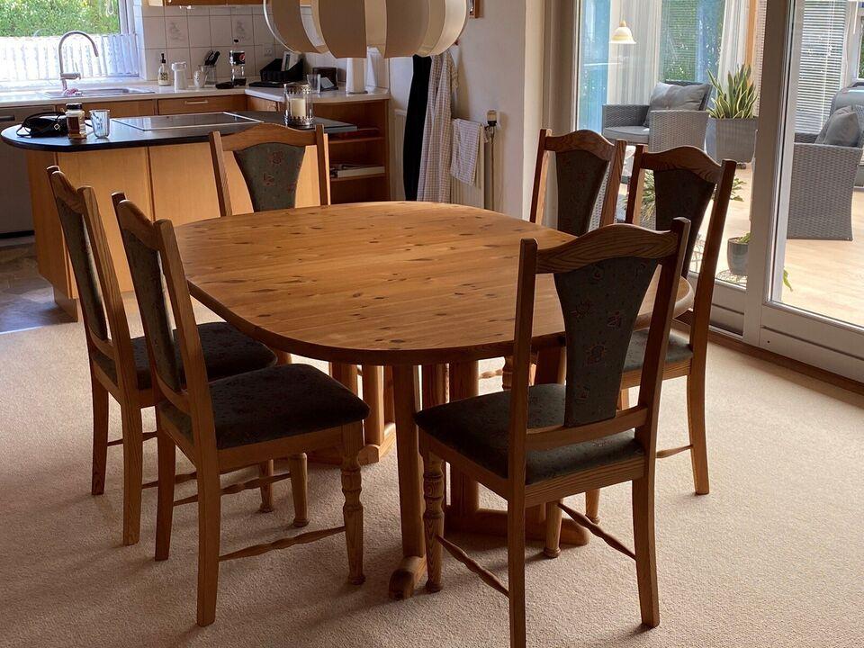 Spisebord, Fyrretræ, Kan males – dba.dk – Køb og Salg af Nyt