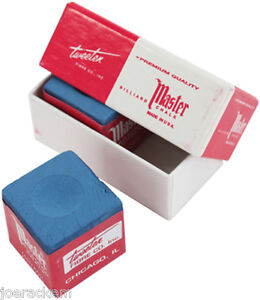 New-Master-Chalk-2-Pack-Mini-Box-2-Pieces-of-Master-039-s-Blue-Chalk