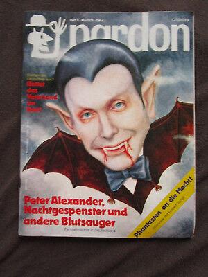 100% Wahr Pardon 1975 Peter Alexander Vampir Ingrid Steeger Bob Dylan Dublin Robert Jungk Starke Verpackung