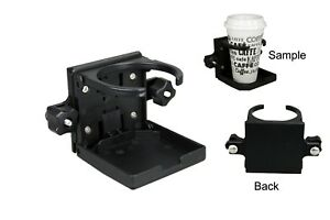 Pactrade-Marine-2PCS-Boat-Tracker-Versatrack-Drink-Holder-Folding-Cup-Holder
