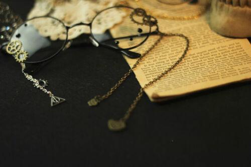 Japanese VINTAGE Harajuku Gothic Lolita Gears Decorate Steampunk DIY Glasses
