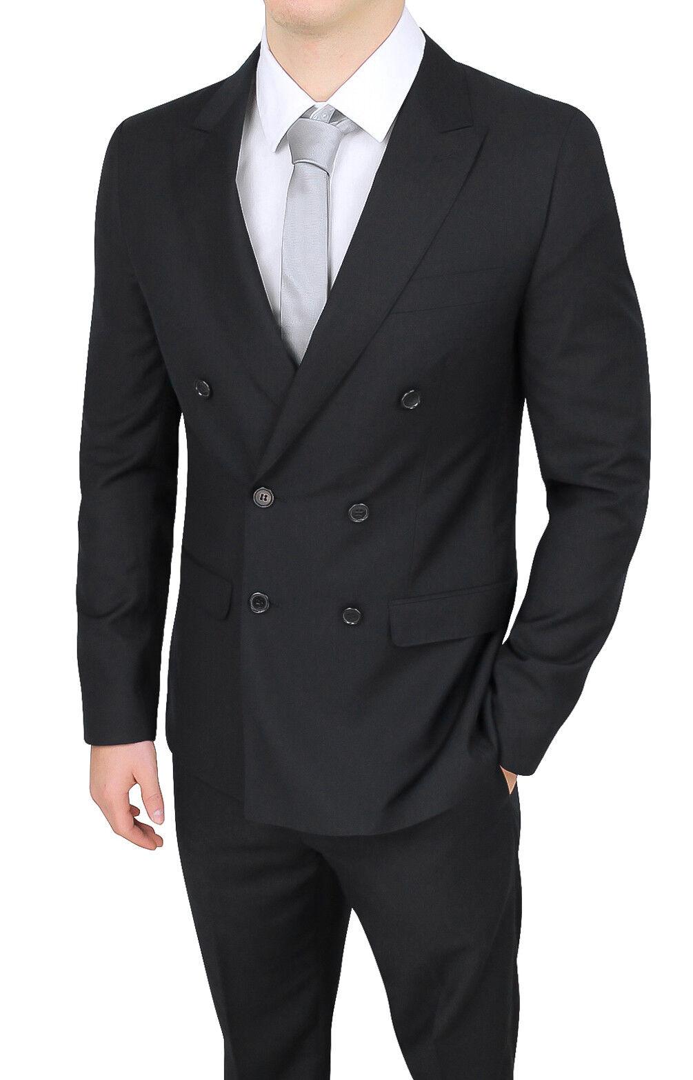 Kleidung mann sartoriale zweireihig schwarz élégant formal smoking zeremonie  | Outlet Online Store  | Up-to-date-styling  | Sehr gute Qualität