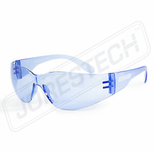 SAFETY GLASSES ANSI Z87.1 COMPLIANT JORESTECH VARIETY PACKS BLUE