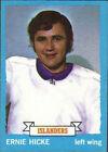 1973 Topps Ernie Hicke #18 Hockey Card