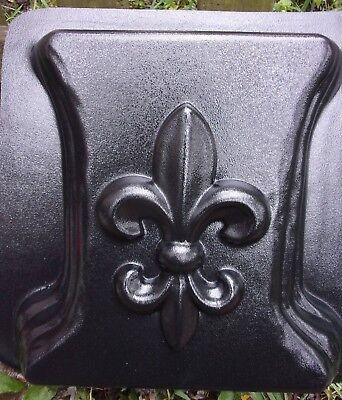 Plaster cement fleur de lis tile plastic mold more fleur designs in my store