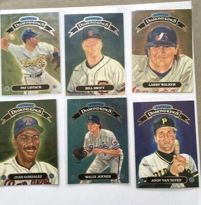 1993 Donruss Diamond Kings Baseball Cards Pick From LIst