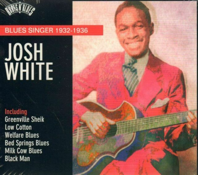 Josh White(CD Album)Blues Singer 1932-1936-New