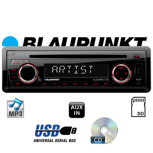 BLAUPUNKT Alicante 170 - CD MP3 SD USB Autoradio KFZ Auto PKW Radio 12V