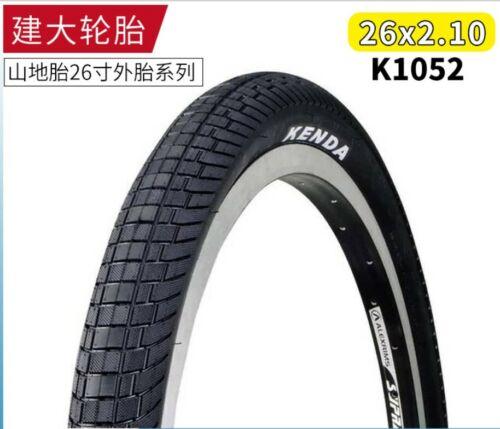 """1*K1052 26/""""x 2.1/""""MTB Bike Tire Flat K Shield Reflective Commuting Tire PSI:30-80"""