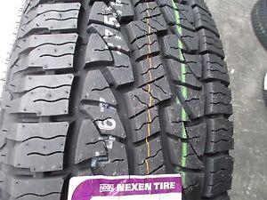 4 new 275/60r20 inch nexen roadian at pro tires 2756020