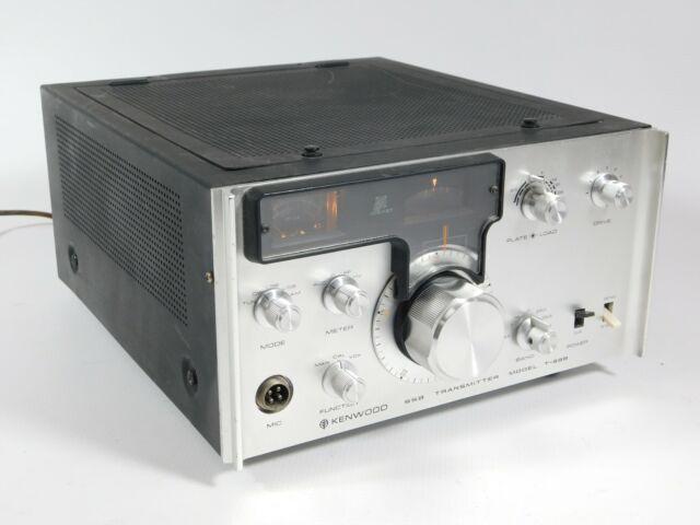 Kenwood Model T 599 Ham Radio Transmitter 55b For Sale Online Ebay