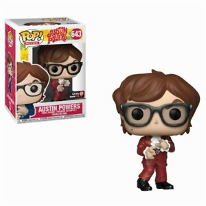 Austin Powers Red Suit Mike Myers Spy Spion Pop Spielzeug Film-fanartikel Movies #643 Figur Funko