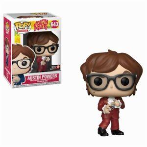 Spielzeug Aufsteller & Figuren Movies #643 Figur Funko Austin Powers Red Suit Mike Myers Spy Spion Pop