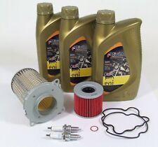 Suzuki GS 500 E Service Wartung Ölwechsel Öl Ölfilter Luftfilter Zündkerzen 10W4