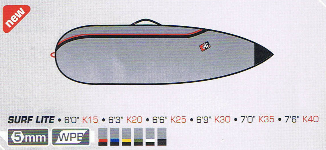 Creatures of Leisure Surfboard Bag - Team Designed Short Board Bag 6'3