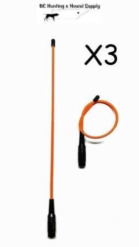 "Long Range 3 430 Flexible Long Range Orange Antenna 14/"" Garmin Astro 320"