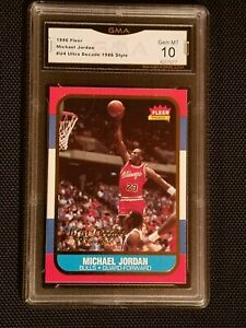 GEM-MINT-10-1996-Fleer-Ultra-Decade-excellence-1986-rookie-Jordan-U4-PSA