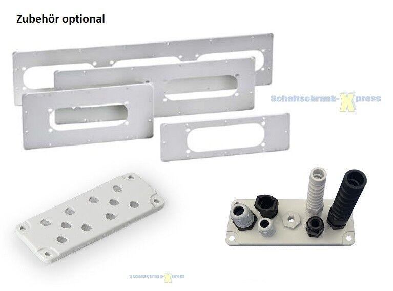 BHT 300x400x150 Stahl Blech IP66 Schaltschrank 400x300x150 mm 1-türig 7035