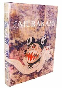 TAKASHI-MURAKAMI-ART-BOOK-JAPANESE-ARTIST-RARE-COLLECTIBLE-DECOR-F-S-USED