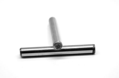 """1//8/"""" x 3//8/"""" Dowel Pin Hardened And Ground Alloy Steel Bright Finish"""