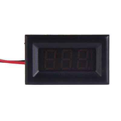 Mini DC 2.5-30V LED Panel Voltage Meter 3-Digital Display Voltmeter Two Wires #L
