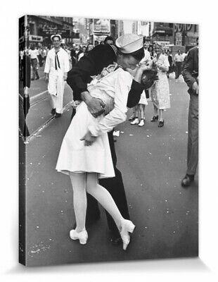 Matrose Küsst Krankenschwester Poster