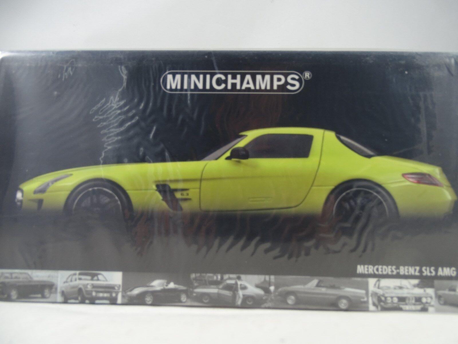 1 18 Minichamps  100039022 Mercedes-Benz AMG SLS 2010