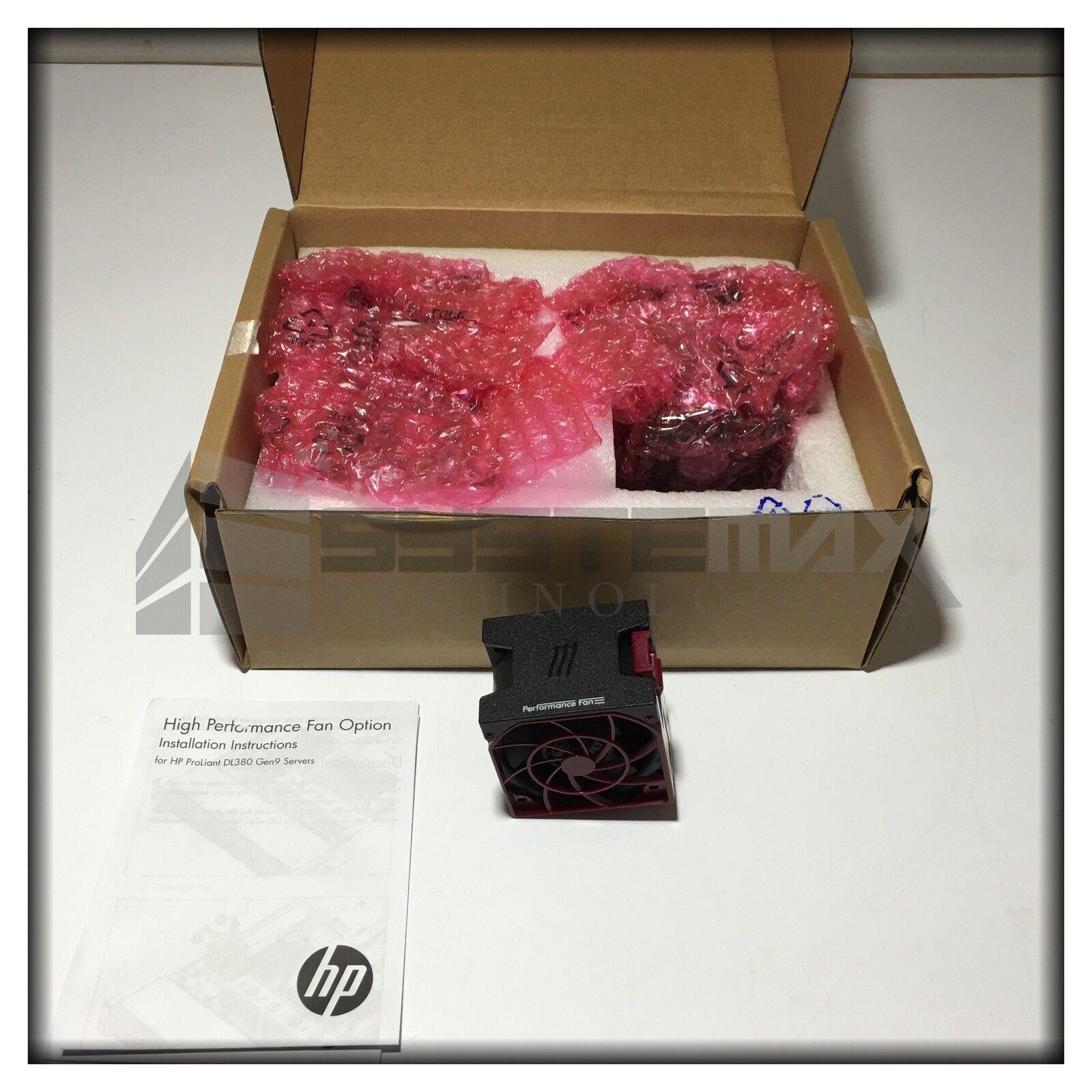 HP 719079-B21 DL380 Gen9 High Performance Temperature 6-Pcs Fan Kit