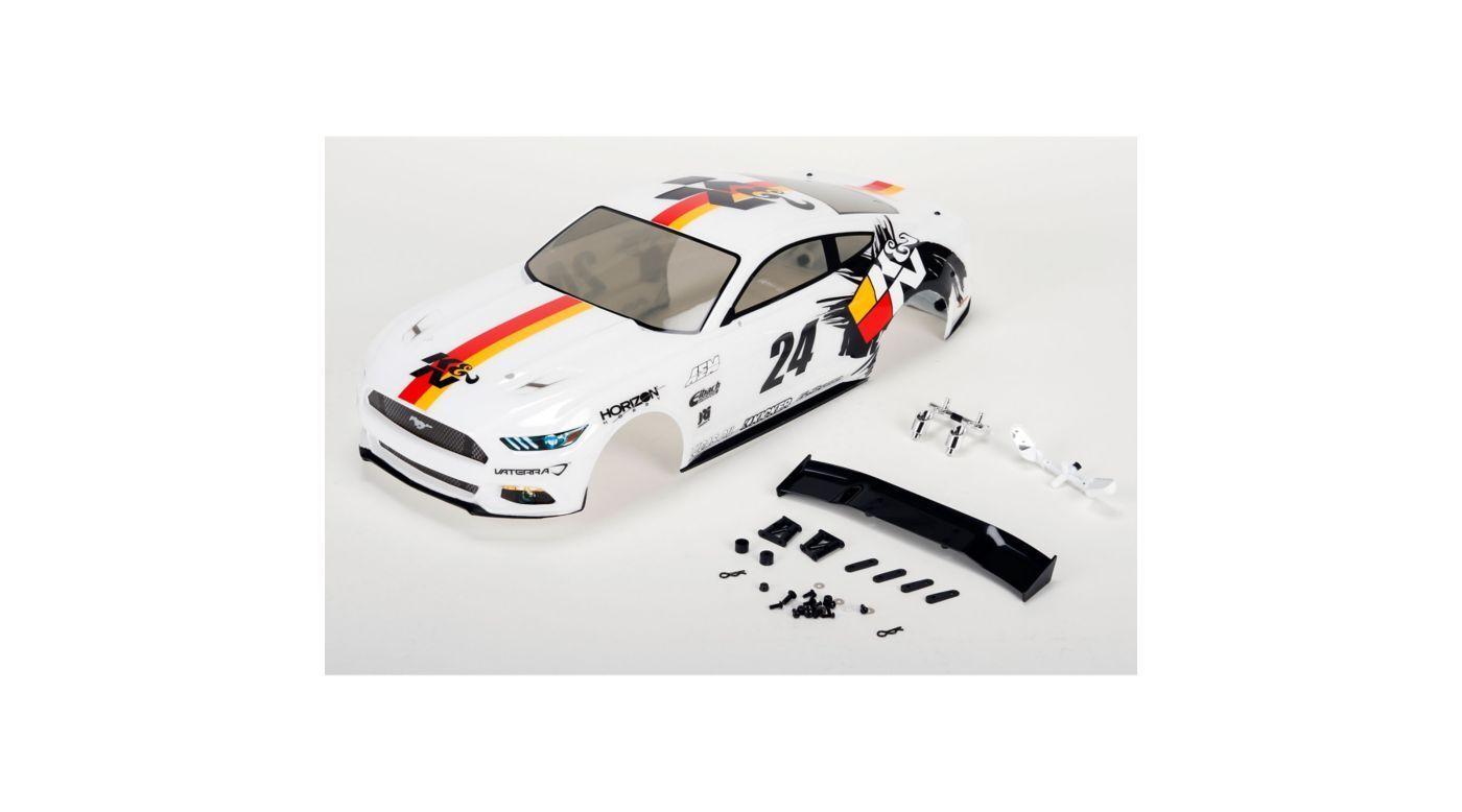 Vaterra VTR230054 2015 K&N Ford Mustang cuerpo conjunto pintado