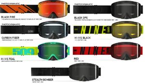 2018 509 Kingpin Dual Pane Anti-Fog Lens Snowmobile Sno-X Snowboard Ski Goggle