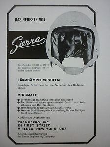 4-1966-PUB-SIERRA-ENGINEERING-CASQUE-AVIATION-HELMET-ORIGINAL-GERMAN-AD