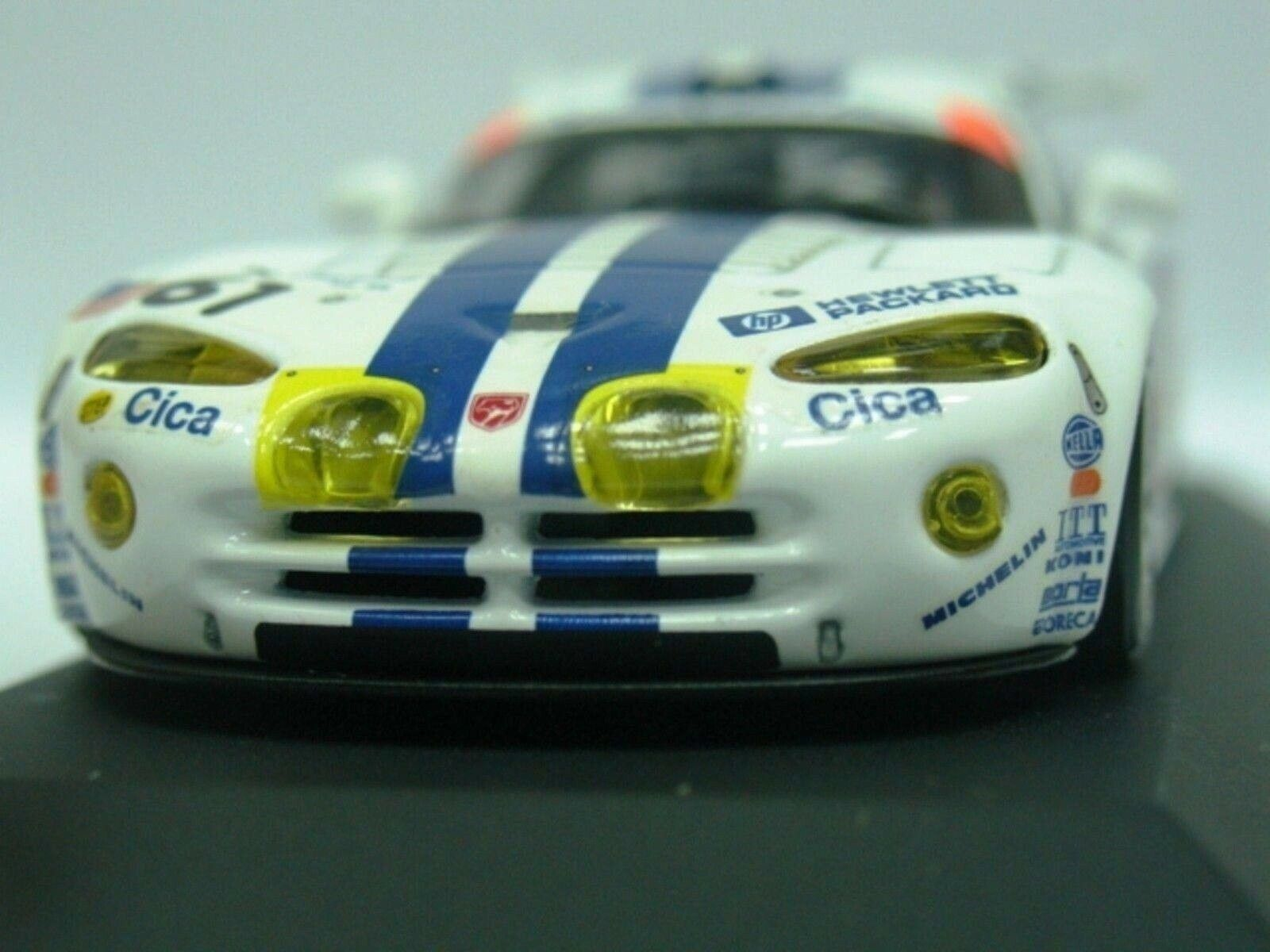 WOW EXTREMELY RARE Chrysler Viper 1997 GTS-R Beretta Le Mans 1 43 Minichamps