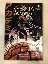 Umbrella Academy Hotel Oblivion #1 Francesco Francavilla Ssalefish Variant cover