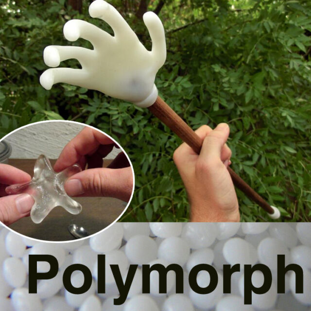 Polymorph Mouldable Plastic Pellets, DIY Plastimake, Friendly Thermoplastic