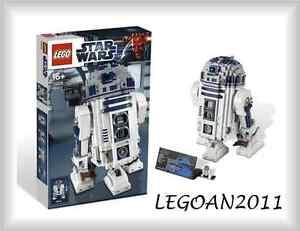 Lego® Star Wars ™ Exclusivité Ucs 10225 R2d2 / R2-d2 Modèle Droid Figure Nouveau & Ovp