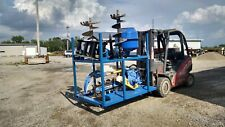 Skid Steer Attachments Set With Rack