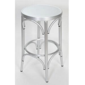 Superb Details About Aluminum Bentwood Look Stool Lamtechconsult Wood Chair Design Ideas Lamtechconsultcom