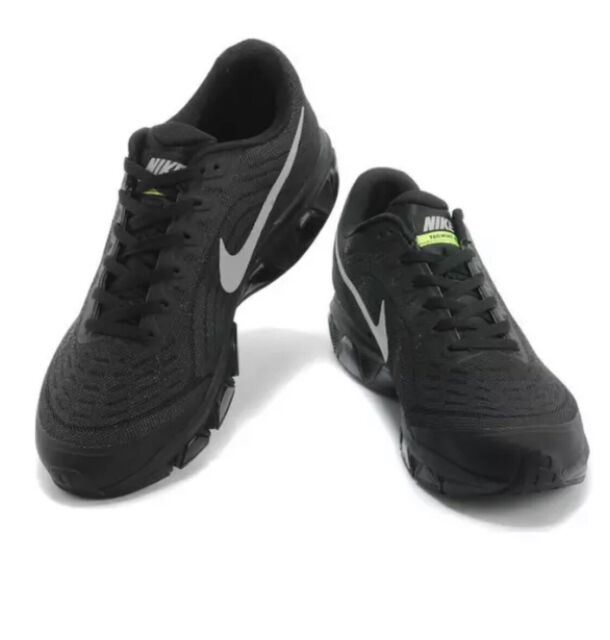 on sale 111d8 6e2a8 Men's Nike Air Max Tailwind 6 Sz 10 Black Silver Volt 621225 001