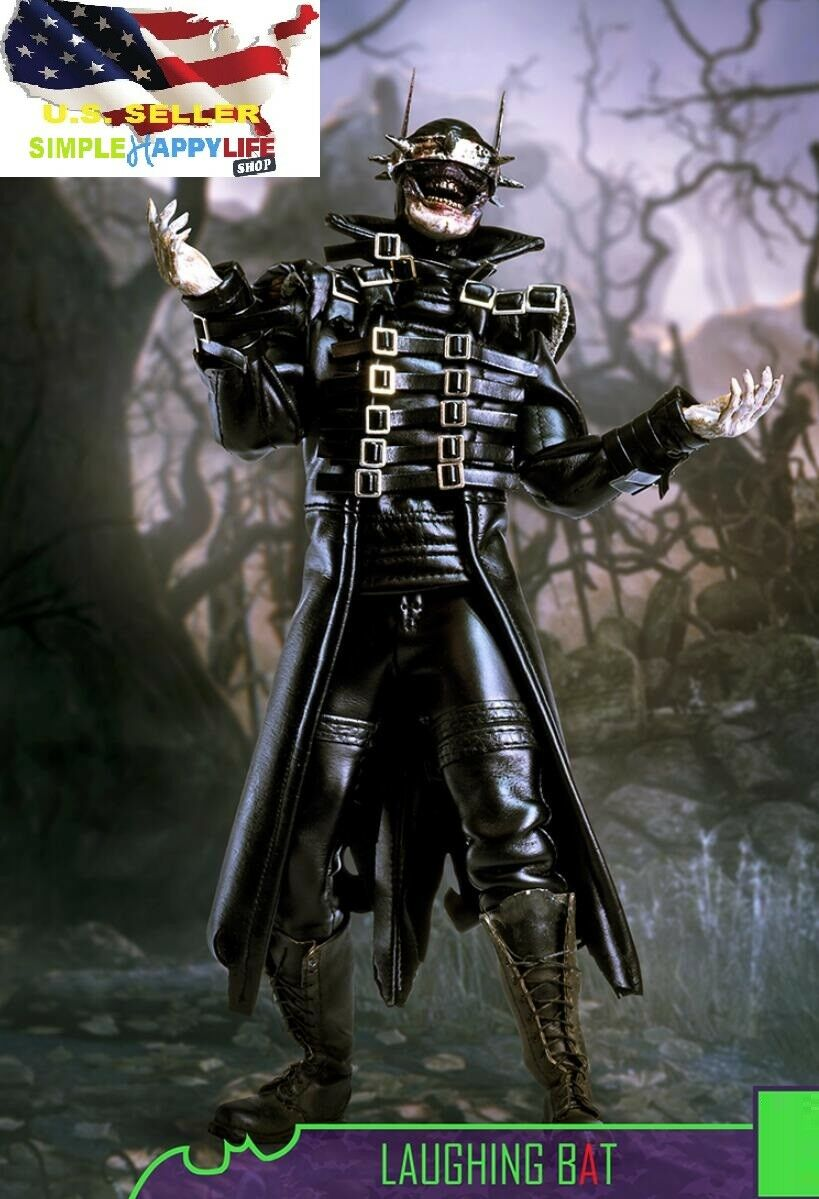 1 6 Dark Nights The Batman Who Laughs Laughing Bat Joker 12  Hot figure toy❶USA❶
