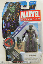 Marvel Universe SKRULL SOLDIER VARIANT STAND Series 2 024 Avengers Figure Hasbro